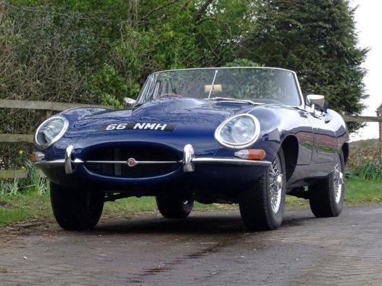 Two Great British Sports Cars: 1963 Jaguar E-Type 3 8
