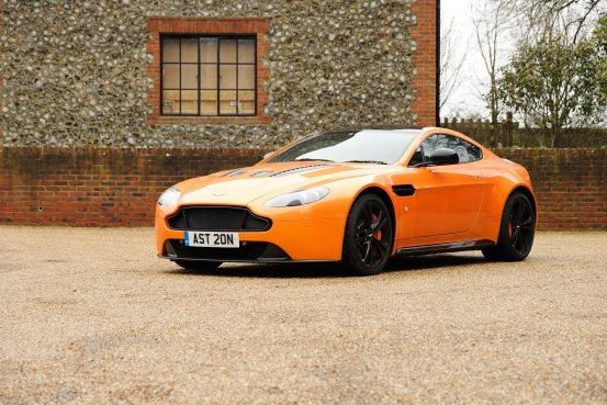 Famous One Off Montana Orange 2011 Aston Martin V12 Vantage Press For Sale At H H Classics Live Auction Online 24th March 2021 Estimate 60 000 70 000