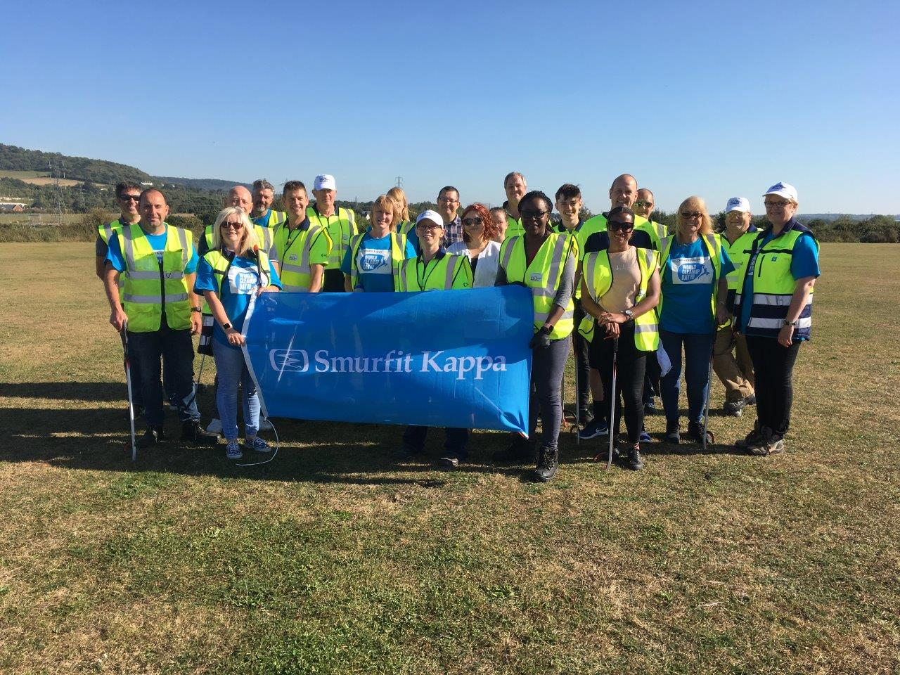 fabrieksuitgang veel modieus kwaliteit Smurfit Kappa Recycling Targets Community Spaces Across the ...
