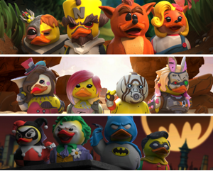 4a5ff943a38 TUBBZ - the collectable cosplaying duck figurines revealed! 🦆